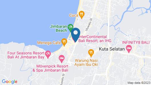 InterContinental Bali Resort, an IHG Hotel Map