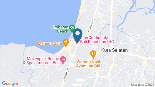 InterContinental Bali Resort Map