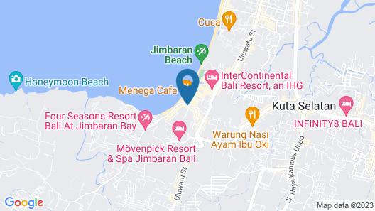Bali baliku Private Pool Villas Map