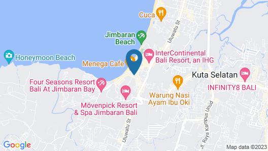 Le Meridien Bali Jimbaran Map