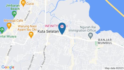 Infinity8 Bali Map
