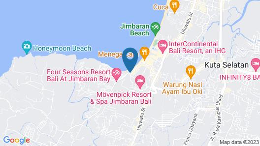 Karma Jimbaran Map
