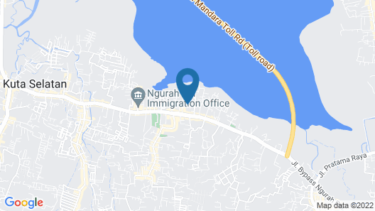 RedDoorz near Exit Toll Bali Mandara Map