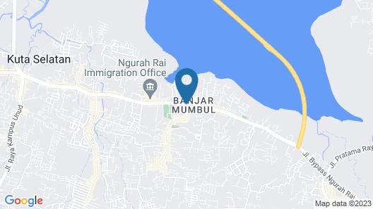 Mahogany Hotel Map
