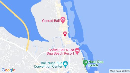 Bali Tropic Resort & Spa Map