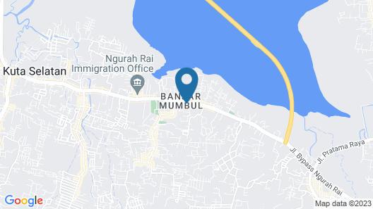 KoolKost @ Bypass Nusa Dua Map
