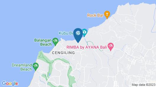 La Joya Biu Biu  Resort Map