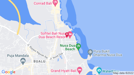 Sofitel Bali Nusa Dua Beach Resort Map