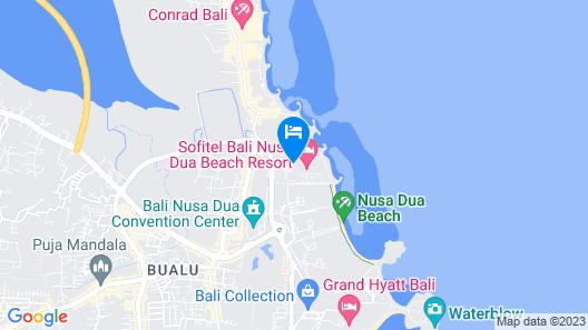Sofitel Bali Nusa Dua Beach Resort Map