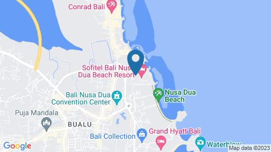Suites & Villas at Sofitel Bali Map
