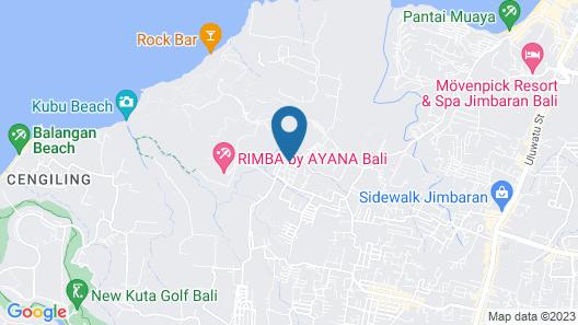 Royal Tulip Springhill Resort Jimbaran Map