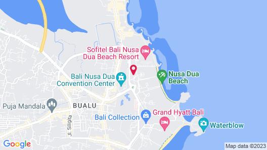 Kayumanis Nusa Dua Private Villa & Spa Map