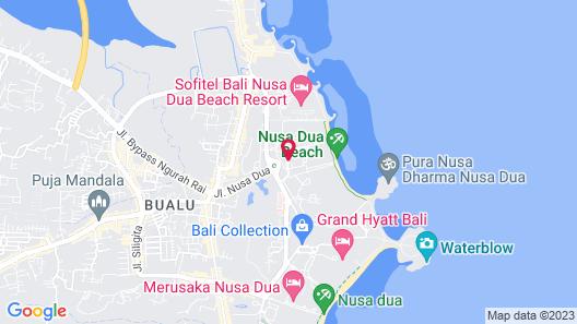 The Westin Resort Nusa Dua, Bali Map