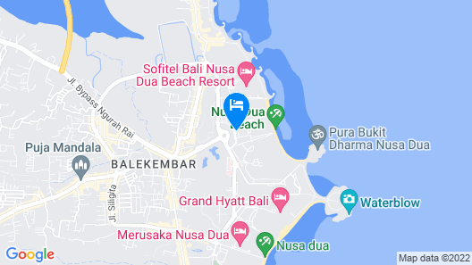 The Westin Resort Nusa Dua, Bali Map