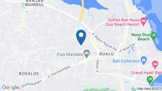 Nagisa Bali Bay View Villas by Nagisa Bali Map