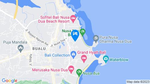 The Laguna, a Luxury Collection Resort & Spa, Nusa Dua, Bali Map