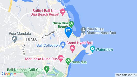 Meliã Bali Map