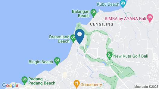 Klapa Resort Map