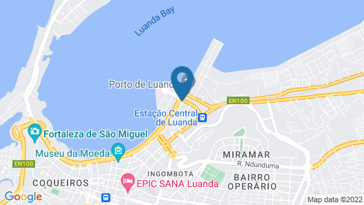 Hotel Presidente Luanda Map