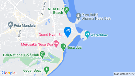 Grand Hyatt Bali Map