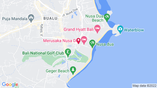 Amarterra Villas Bali Nusa Dua - Mgallery Collection Map