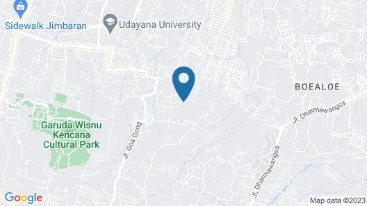 Puri Hawila villa Map