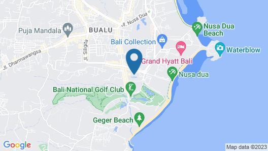 Courtyard by Marriott Bali Nusa Dua Resort Map