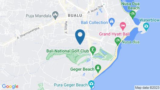Mercure Bali Nusa Dua Map