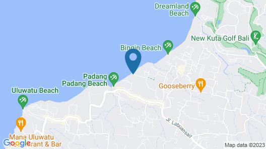 Rock 'n Reef Hotel Map