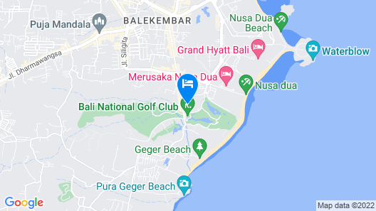 Novotel Bali Nusa Dua Map