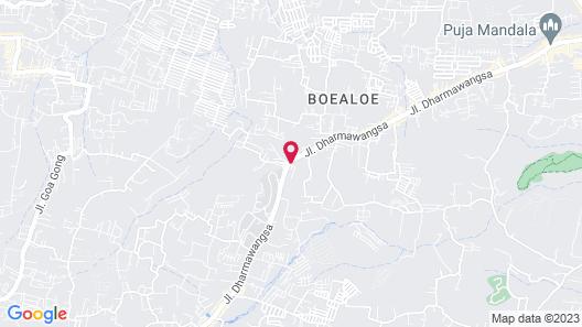 Nusa Dua Bayview Map