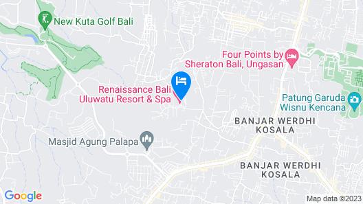 Renaissance Bali Uluwatu Resort & Spa Map