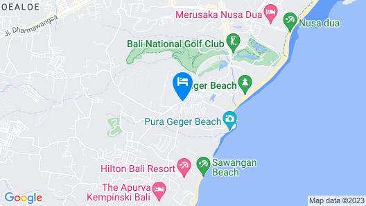 Mulia Resort Map