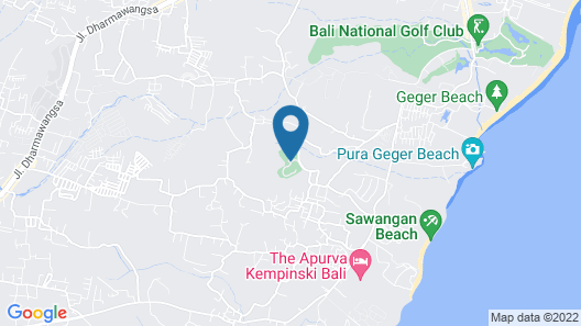Agata Resort Nusa DUA Map