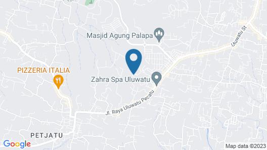 Hideaway Villas Bali Map