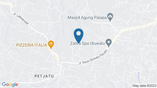 S Resorts Hidden Valley Bali Map