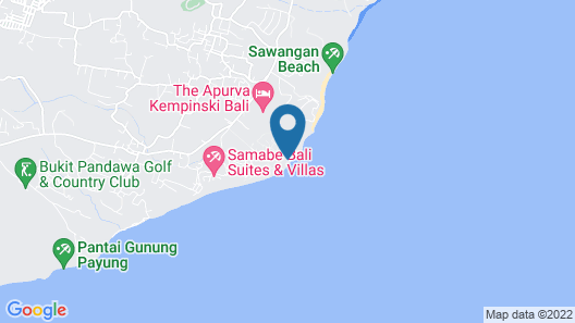 The Ritz-Carlton, Bali Map