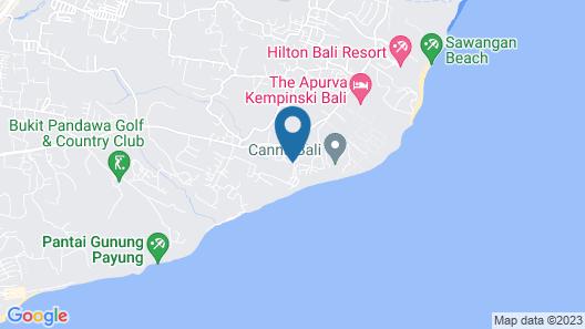 Samabe Bali Suites & Villas Map