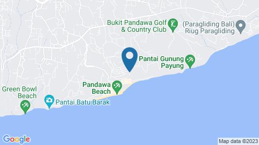 Private Villas of Bali Map
