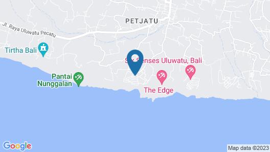 Bulgari Resort Bali Map