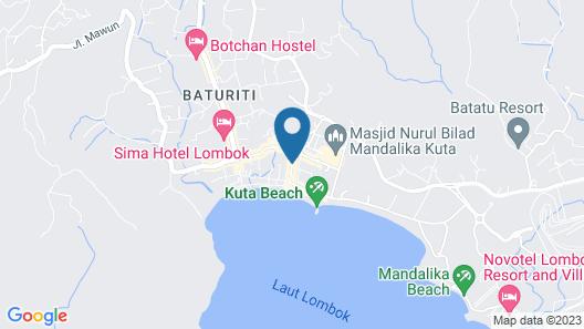 Kemangi Bed & Breakfast Map