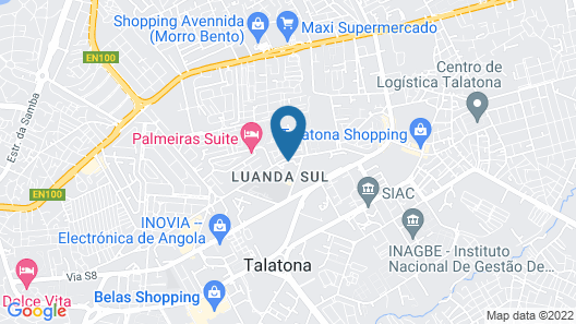 IKA Hotel Luanda Map