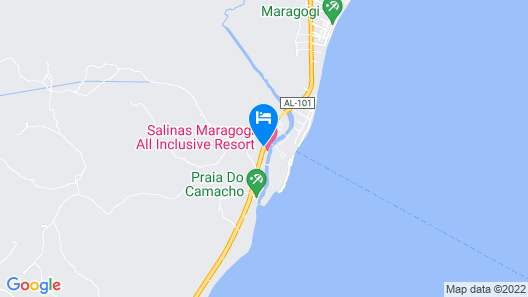 Salinas Maragogi All Inclusive Resort Map