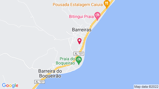 Pousada Lua Cheia Map