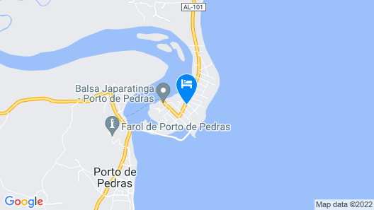 Pousada Kaluanã Map