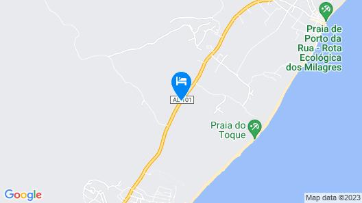 Pousada Vila do Coco Map