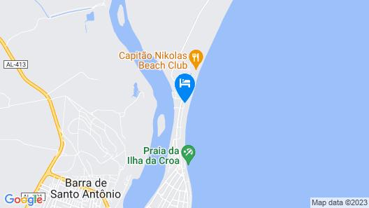 Pousada Carro Quebrado Map