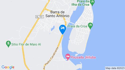 Pousada Jirituba Map