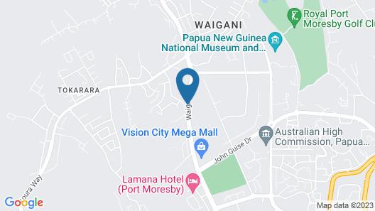 Laguna Hotel Map