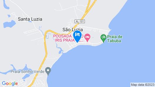 Pousada Casa Ybacá Map